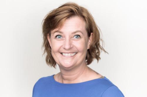 Porträtt på Carina Johansson Verksamhetschef på Arcademy